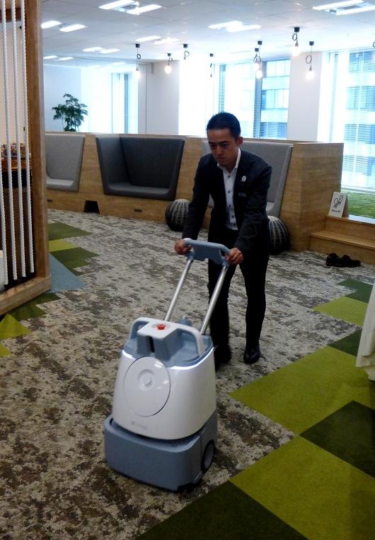 「ロボット」×「ビル管理」。省人化の実現へ