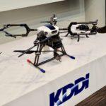 【ロボット】生産性4倍──KDDIが「4Gドローン」を商用化 監視・土木・農業向けに6月提供
