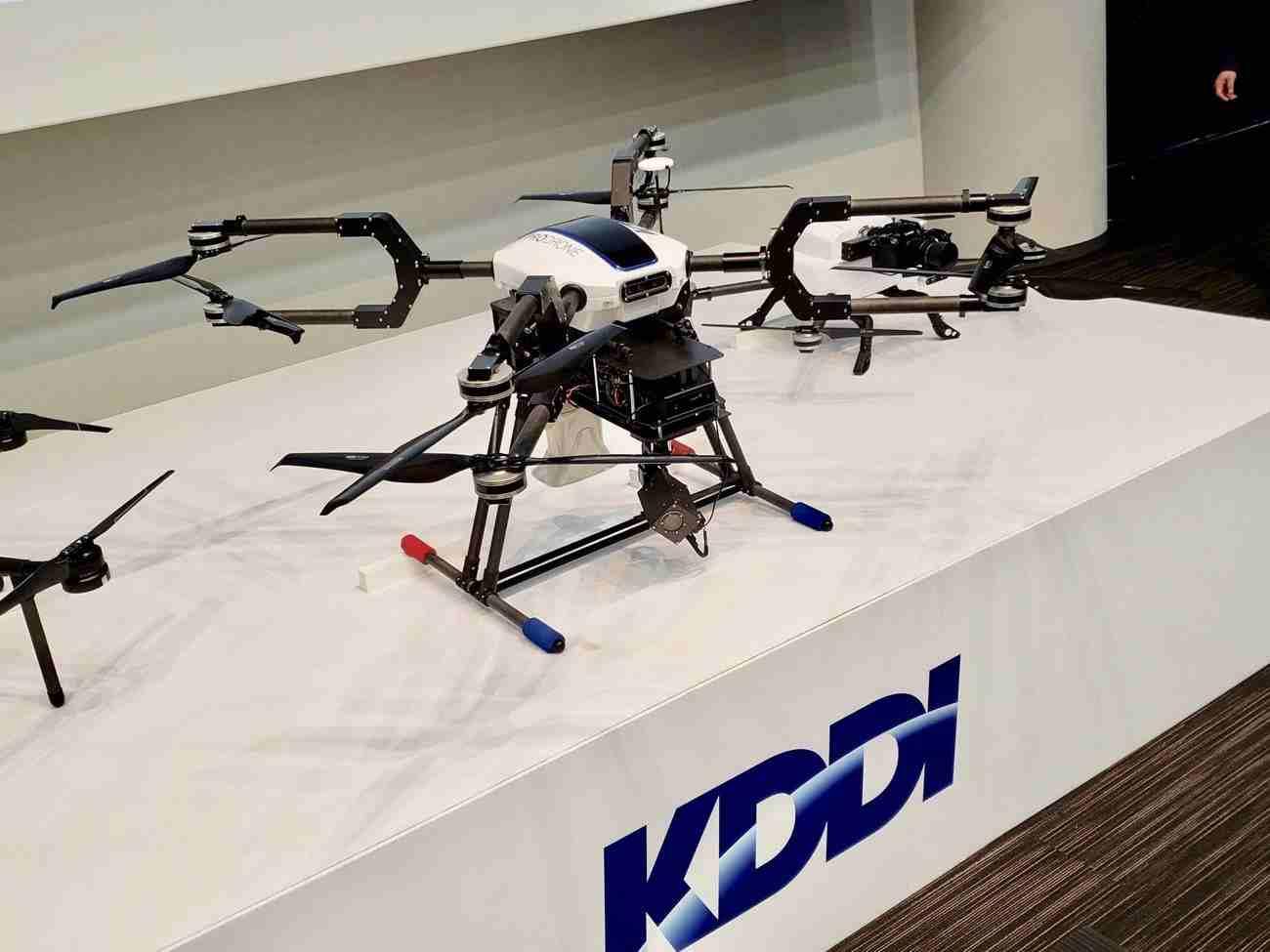 【ロボット】生産性4倍 KDDIが「4Gドローン」を商用化