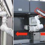 【ビルメンテナンス】三菱地所が高層ビルで窓拭きロボットアームの実証実験 超高層ビルに多関節アームの「多目的壁面作業ロボット」 :ビルメンコンシェルジュ