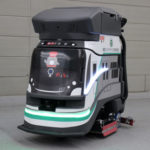 電車モチーフのデザインがかわいい 東急線・渋谷駅と横浜駅にAIを搭載した自動清掃ロボットを導入
