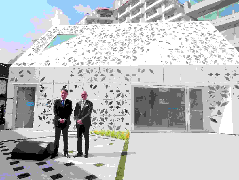 【ビルメンテナンス】 竹中工務店とメルセデス・ベンツ日本 建築の未来具現化 デジタル技術駆使した体験施設をオープン