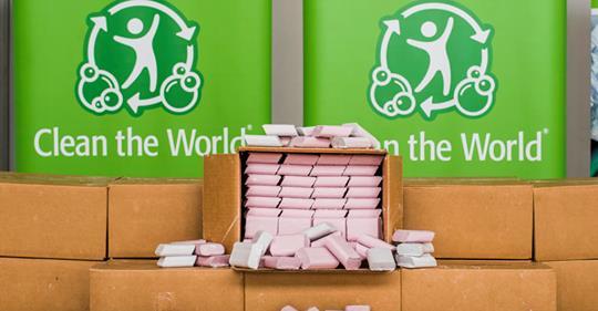 【ビル管理】ヒルトンホテル、NPOと共同で客が残した100万個の石鹸をリサイクル。ホテルの「もったいない」を見直し