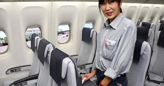 【ビルメンテナンス】世界レベルの清潔性の裏に「人の力」 ANA、機内清掃コンテスト初開催