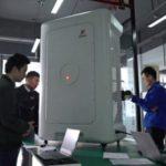 中国の外壁清掃、AIロボットにお任せ