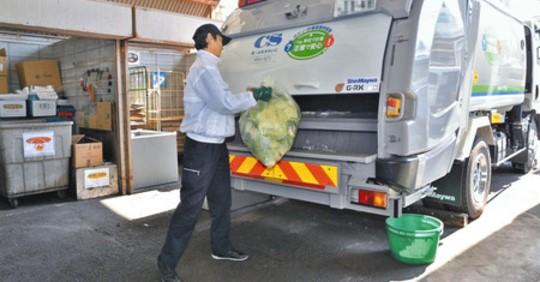 【ビル管理】駅ビルから再生エネの輪 平塚「ラスカ」 食品廃棄物を転換