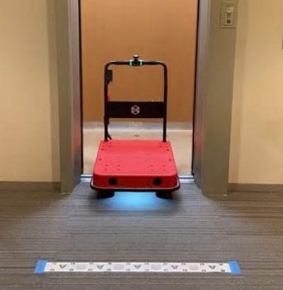 【ビルメンロボット】ZMP/新型コロナ療養施設の物資運搬に「CarriRo」提供
