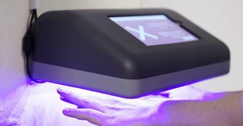 【ビル管理】手洗い後に手をかざすと衛生状態を自動で判定する手指衛生管理ソリューション