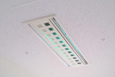 【ビル除菌・衛生】やっぱり本命! UVCランプ搭載の空気除菌システム