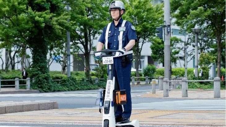 【ビルメンロボット】パーソナルモビリティでの巡回警備