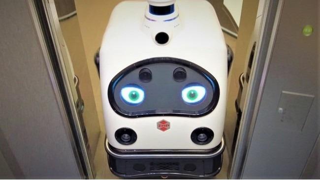 【ビルメンロボット】ロボットが自在にエレベーターの乗り降りを可能に:日本オーチス