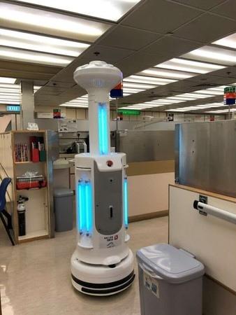 【ビルメンロボット】タブレット操作で無人除菌を実現!完全自律走行の除菌ロボット「R-Paca(アールパカ)」