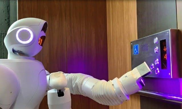【ビルメンロボット】人型の消毒・巡回ロボット登場!