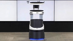 【ロボット】ソフトバンクGが配膳ロボ コロナ禍の人手不足に対応