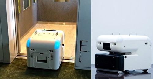 【ビルメンテナンス】サイバーダインの次世代型清掃ロボット「エレベーターと連携して自動乗降」ロボット単独でフロア自律移動の実証実験