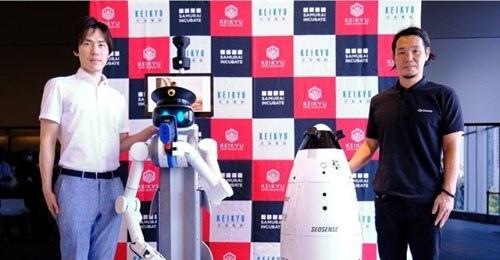 【ビル管理】京急のアクセラレータープログラムから「警備ロボット」がお披露目 –2020年度内に実装へ