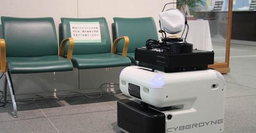 【ビル消毒】CYBERDYNEの除菌消毒作業ロボット「CL02」茨城県つくば市が本庁舎に導入 今後は公共施設での活用も検討