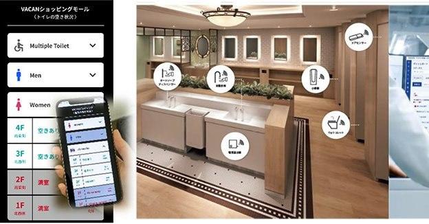 【ビル管理】新たなIoTトイレ管理サポートシステム:TOTO