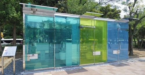 【ビル管理】著名建築家らが渋谷区内の公衆トイレをデザイン 坂茂さん設計・ガラス張りトイレなど