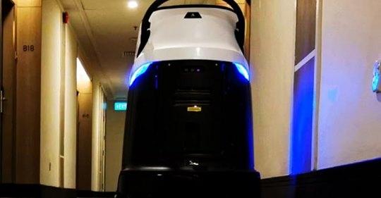すごすぎる中国の業務用清掃消毒ロボット・日本製を凌駕!?